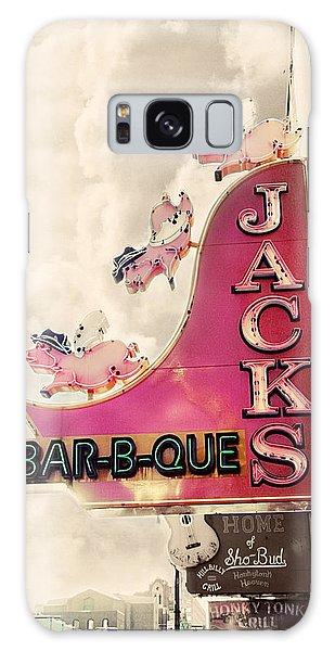 Jacks Bbq Galaxy Case by Amy Tyler