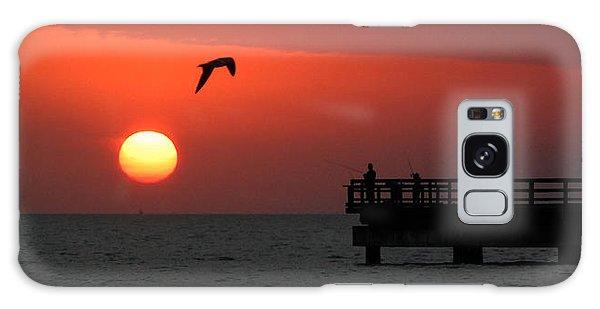 Jacks Sunrise Galaxy Case by Leticia Latocki
