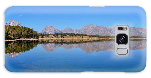 Jackson Lake Reflections Galaxy Case