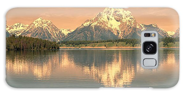 Teton Galaxy Case - Jackson Lake Sunrise - Grand Teton by Sandra Bronstein