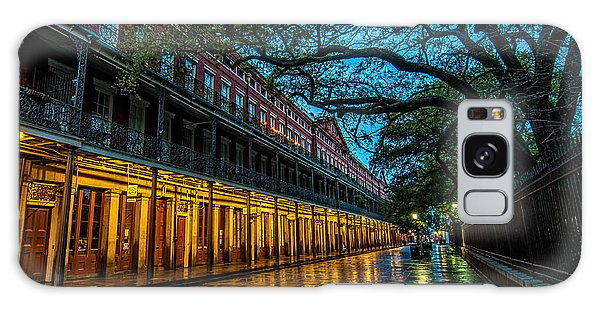 Jackson Square At Dawn Galaxy Case by Andy Crawford