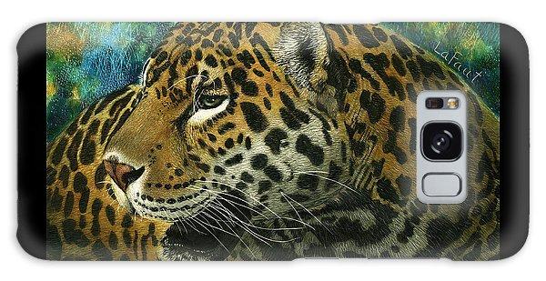 Jaguar Galaxy Case by Sandra LaFaut