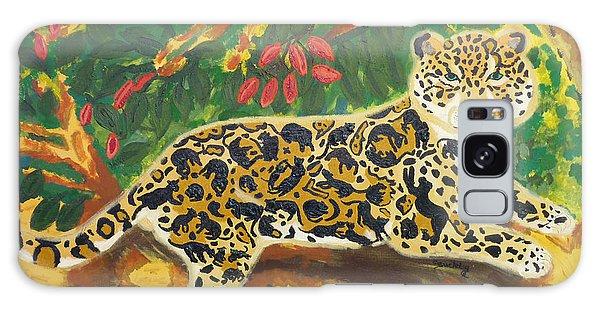 Jaguars In A Jaguar Galaxy Case by Cassandra Buckley