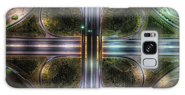 Art Deco Galaxy S8 Case - Jahra Road by Faisal Alnomas