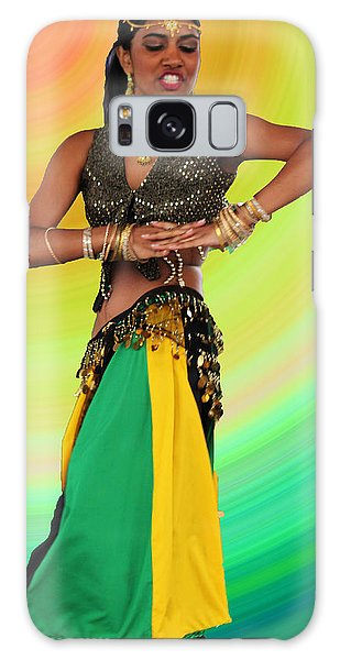 Jamaican Belly Dancer Galaxy Case