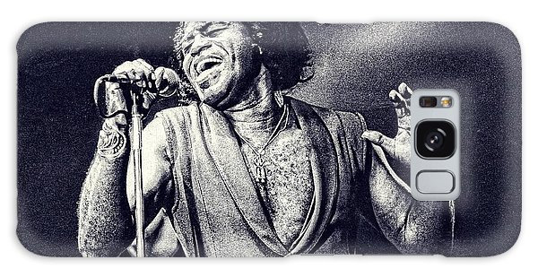 James Brown On Stage Galaxy Case