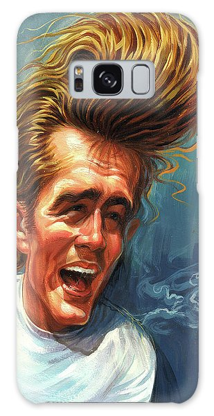 James Dean Galaxy Case by Art