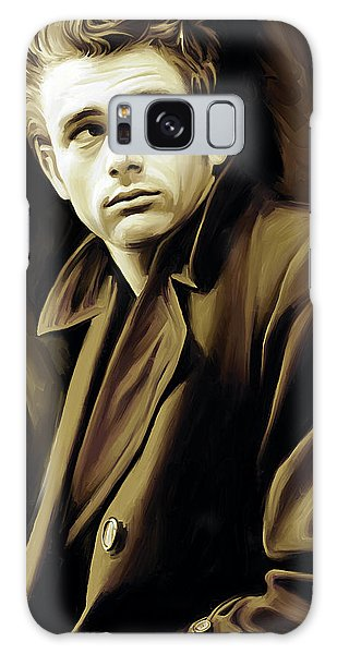 James Dean Artwork Galaxy Case