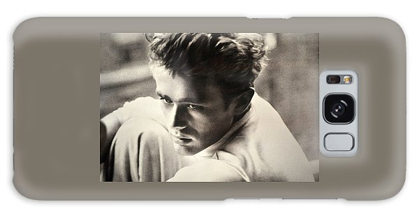 James Dean Black And White Galaxy Case