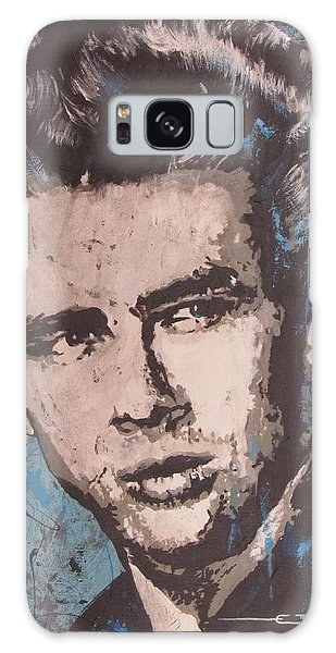 James Dean Blues Galaxy Case