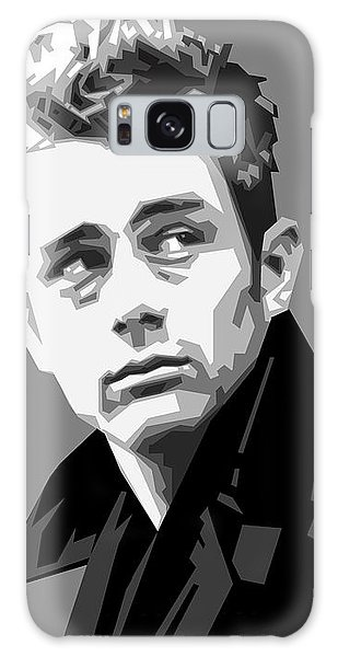 James Dean In Black And White Galaxy Case by Douglas Simonson