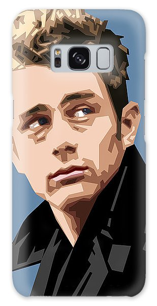 James Dean In Color Galaxy Case by Douglas Simonson