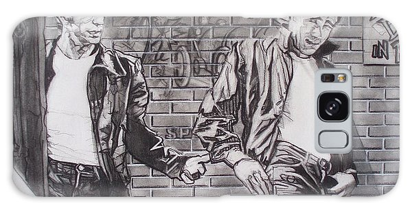 James Dean Meets The Fonz Galaxy Case by Sean Connolly