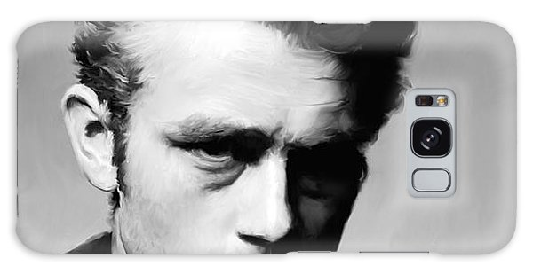 James Dean - Portrait Galaxy Case by Paul Tagliamonte