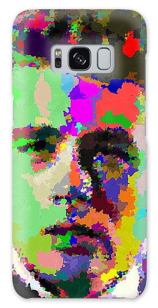James Dean Portrait Galaxy Case