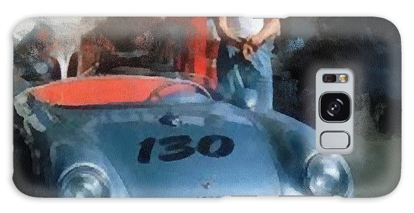 Galaxy Case - James Dean With His Spyder by Paulette B Wright
