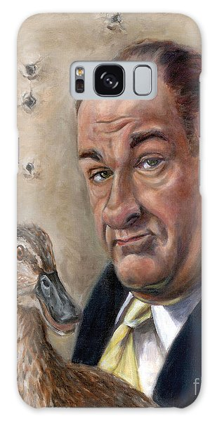James Gandolfini Galaxy Case by Mark Tavares