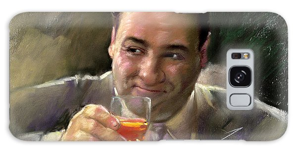 James Gandolfini Galaxy Case by Viola El