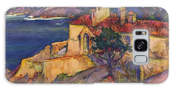 James House Carmel Highlands California By Rowena Meeks Abdy 1887-1945  Galaxy Case by California Views Mr Pat Hathaway Archives