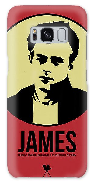 James Poster 2 Galaxy Case by Naxart Studio