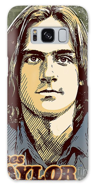 James Taylor Pop Art Galaxy Case