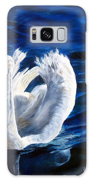 Jamie's Swan Galaxy Case