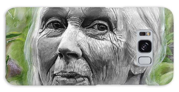 Jane Goodall Galaxy Case