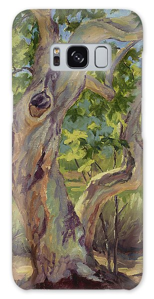 Spring Sycamore Galaxy Case by Jane Thorpe
