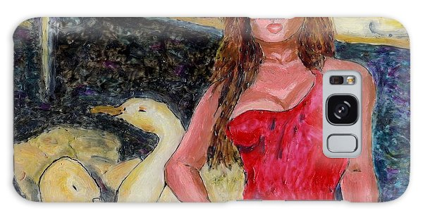 Janis And The Swans Galaxy Case by Phil Strang