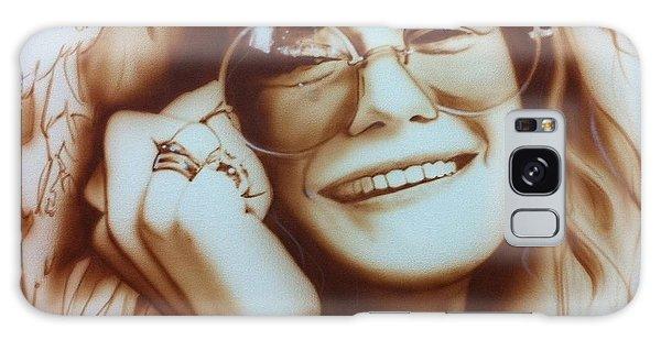 Celebrities Galaxy Case - Janis by Christian Chapman Art