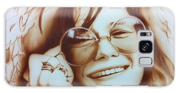 Rock And Roll Galaxy S8 Case - Janis by Christian Chapman Art