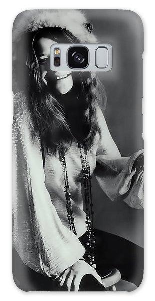Janis Joplin Galaxy Case by Daniel Hagerman
