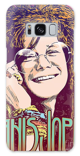 Janis Joplin Pop Art Galaxy Case