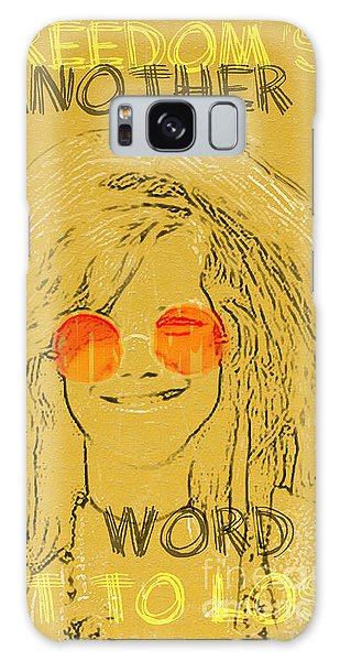 Janis Joplin Song Lyrics Bobby Mcgee Galaxy Case