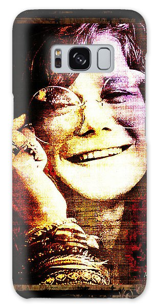 Janis Joplin - Upclose Galaxy Case
