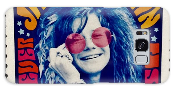 Janis Stamp In A Groovy Vibe Galaxy Case