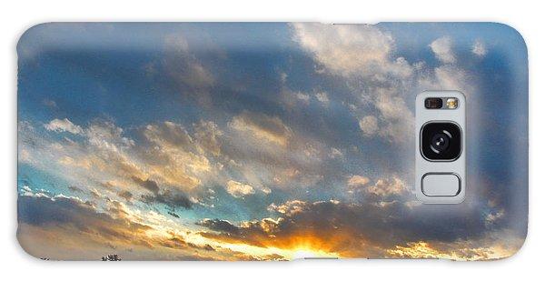 January Sunset Galaxy Case