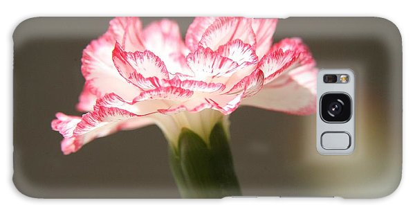January's Flower Galaxy Case by Lynn England