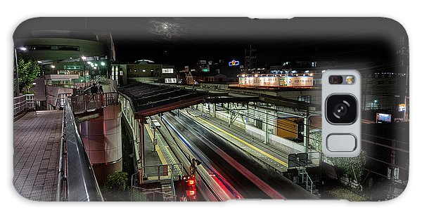 Japan Train Night Galaxy Case