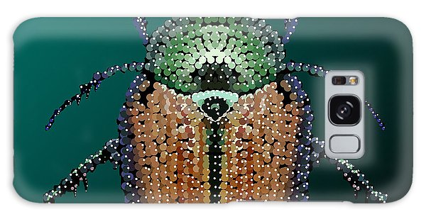 Japanese Beetle Bedazzled II Galaxy Case