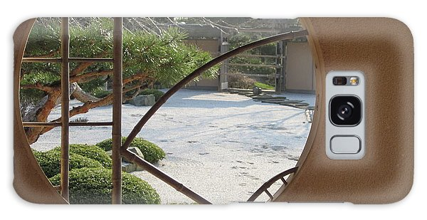 Japanese Garden Galaxy Case by Kathie Chicoine