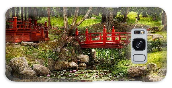 Japanese Garden - Meditation Galaxy Case