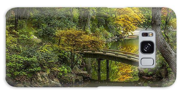 Japanese Garden Galaxy Case by Sebastian Musial
