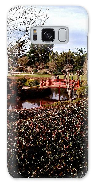 Japanese Gardens Toowoomba Galaxy Case by Therese Alcorn