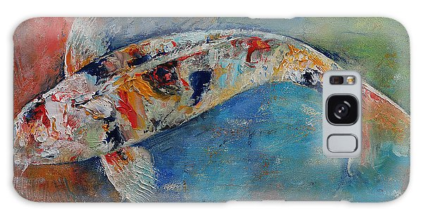 Collectibles Galaxy Case - Japanese Koi by Michael Creese