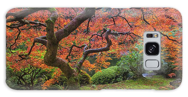 Japanese Maple Tree Galaxy Case