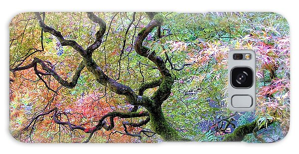 Japanese Maple Galaxy Case by Wendy McKennon
