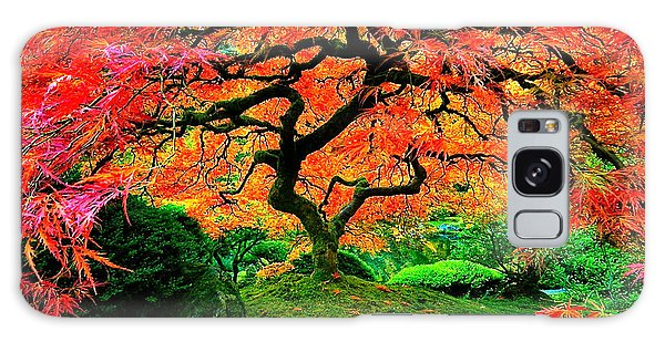 Japanese Red Maple Galaxy Case