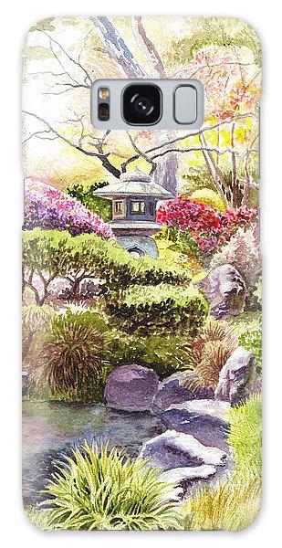 San Francisco Golden Gate Park Japanese Tea Garden  Galaxy Case
