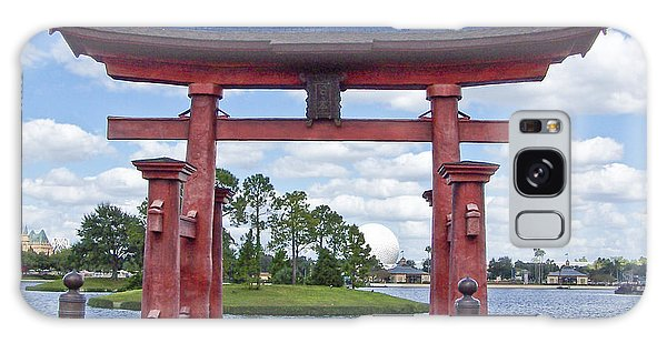 Japanese Torri Gate At Epcot Galaxy Case